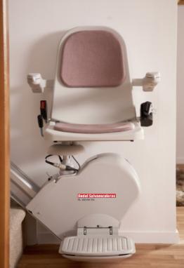 silla salvaescaleras recta